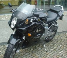 Motorcycle in Berlin by BenjiPrice
