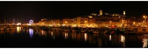 Cannes by night by manuamador