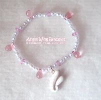 Angel Wing Bracelet by xlilbabydragonx