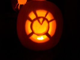 Orange Lantern Pumpkin by gizbear