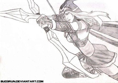 Ashe, the frost archer by buo3run