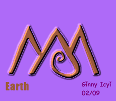 Earth Symbol by Icyi