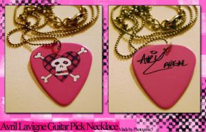 Avril Lavigne Necklace by Photogenic5