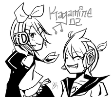 The Kagamines by VocaloidRinLen