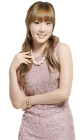 SNSD Taeyeon PNG by diela123