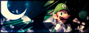 BN_Luigi's Mansion banner by Chivi-chivik