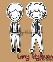 Larry Stylinson at the KCA's 20120331 by chickyrabb