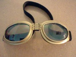 steampunk Goggles by superbasicboy
