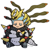 Cuddle Buddy Giratina by roseannepage