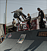 Skateboarding at Warped by chase009