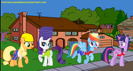 My Little Simpsons by ponysalvadoreno