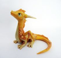 Sunny Dragon Sculpture by ByToothAndClaw