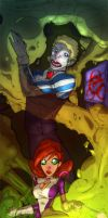 Airhead and Janet Planet by NICKOLAI-IVAN-KILIN
