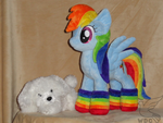 Rainbow Dash in her Socks by WhiteDove-Creations