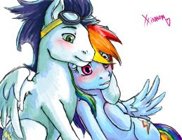 Rainbow Love by Xxinnon
