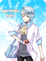 HBD melbro by melyui