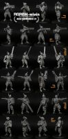 Alien Commander 2.0 assembly options, 56mm by Papah-minis