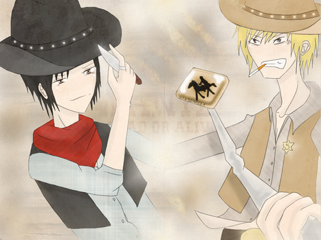 Western much. by XsoakedX