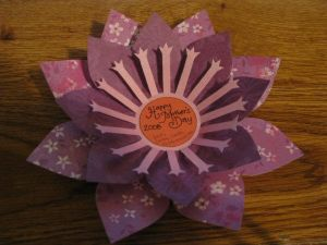 3D Flower Mother's Day Card 1 by ~pinktoque