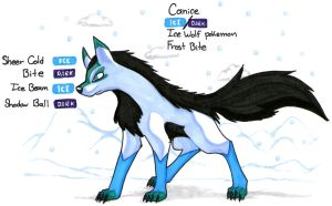 Fakemon:Canice by Wolfangkun