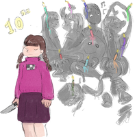 happy tenth birthday yume nikki by X3carlyX3