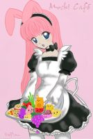 Momo the Bunny -Commission- by x-steffi-x