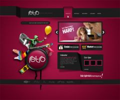 Retro Home Page by Ajansretro