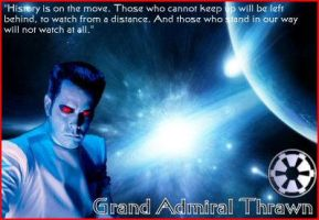 SW: Grand Admiral Thrawn by chaoswarmaster