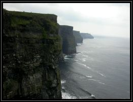 Moher Cliffs by sillylittleidiot