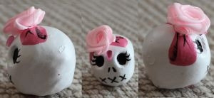 Cute Sugar Skull 82 SOLD by angelacapel