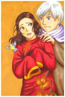 APH: Be one with me by momofukuu