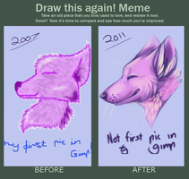 Draw this again MEME by SmidgeFish