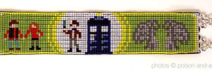 Green Doctor Who Cuff by PookNero