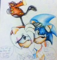 Don't Look! Colour Pencil WIP by MissTangshan95