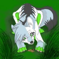 Volixy .:ArtTrade:. by Phycotic-Wolf