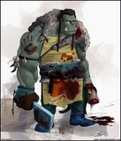 Orc Cook by Tomahawk-Monkey