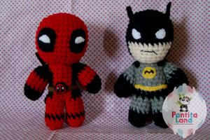 Deadpool and Batman by sefie-ireth