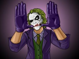 Joker Framing by darknight7