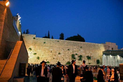 The Western Wall by N-de