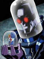 Bruce Timm Mr. Freeze by AndyManley3