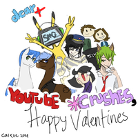 A [late] Youtube *Crushes Valentines! by caixue