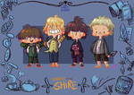 The Hobbits by jingster