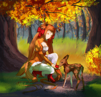 Commission - Autumn #2 by ximbixill