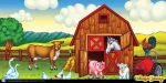 Farm Art Panel by designfxpro