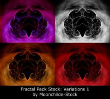 Fractal Pack Stock Variation 1 by Moonchilde-Stock