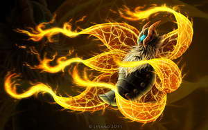 Fiery Dance by Deltheor