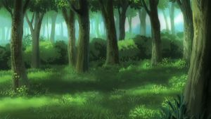 Forest background by EvilCoco95