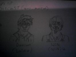 duncan and sijn by Robbie18