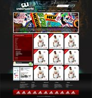 shop layout for undergrand.pl by craxgfx