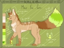 Kaleb ref (design gift) by coffaefox